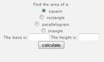 Area Calculator
